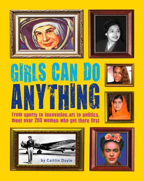 Girls Can Do Anything Paperback  by Rachel Federman