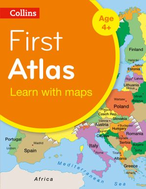Collins First Atlas (Collins Primary Atlases) Paperback New Second edition by No Author