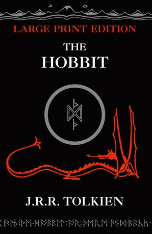 The Hobbit Paperback Large type edition by J. R. R. Tolkien
