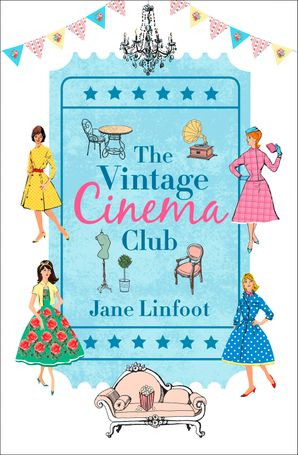 The Vintage Cinema Club Paperback  by Jane Linfoot
