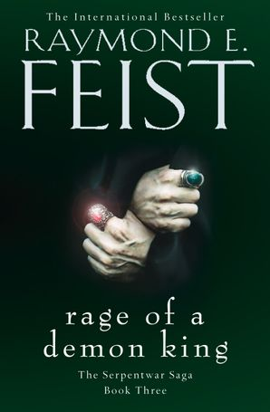 Rage of a Demon King Paperback  by Raymond E. Feist
