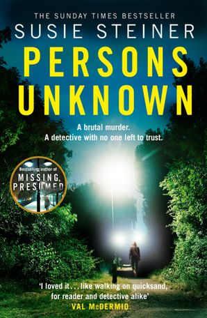 Persons Unknown (A Manon Bradshaw Thriller) Paperback  by Susie Steiner
