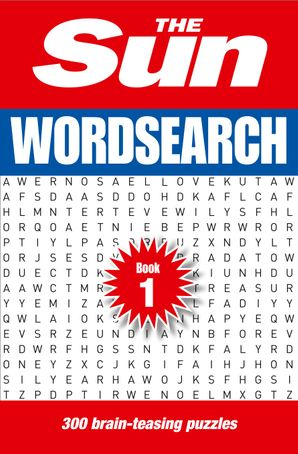 The Sun Wordsearch Book 1: 300 fun puzzles from Britain's favourite newspaper Paperback  by No Author