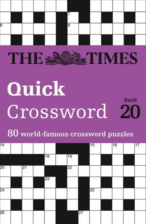 The Times Quick Crossword Book 20 Paperback  by John Grimshaw