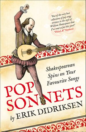 Pop Sonnets Hardcover  by Erik Didriksen