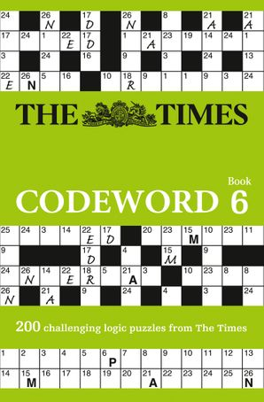 The Times Codeword 6 Paperback  by No Author