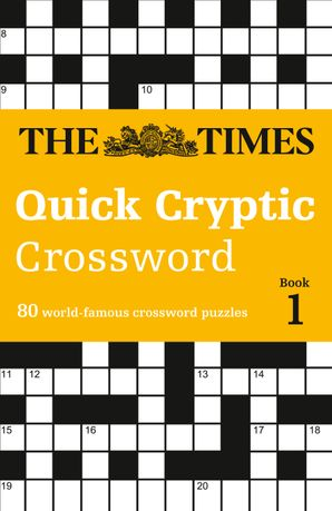 The Times Quick Cryptic Crossword Book 1 Paperback  by Richard Rogan