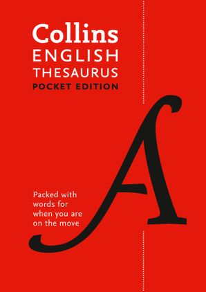 Collins English Pocket Thesaurus: The perfect portable thesaurus Paperback Seventh edition by No Author