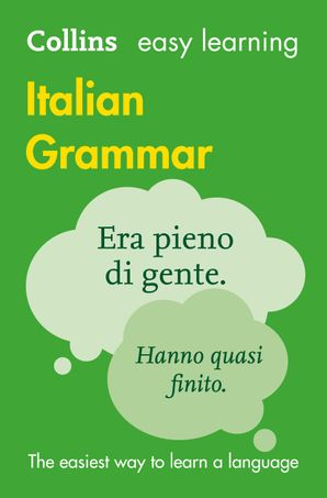 Easy Learning Italian Grammar Paperback Third edition by No Author
