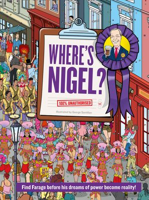 Where's Nigel? Hardcover  by George Santillan