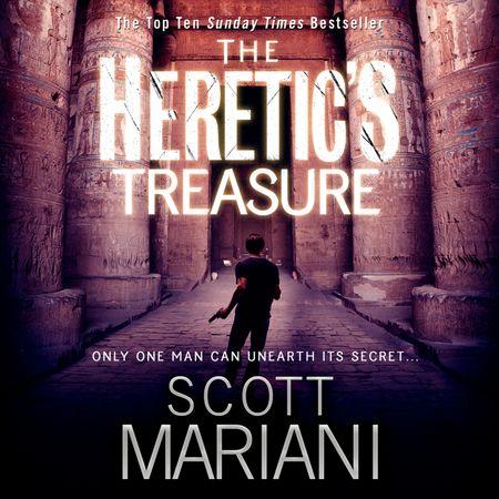 The Heretic's Treasure - Scott Mariani, Read by Colin Mace