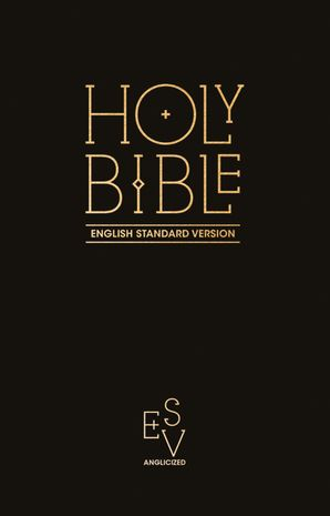 Holy Bible: English Standard Version (ESV) Anglicised Pew Bible (Black Colour) Hardcover  by No Author