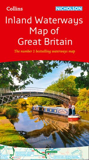 Collins Nicholson Inland Waterways Map of Great Britain  New edition by No Author