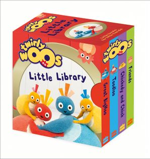 Twirlywoos Little Library Board book  by