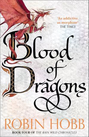 Blood of Dragons Paperback  by Robin Hobb