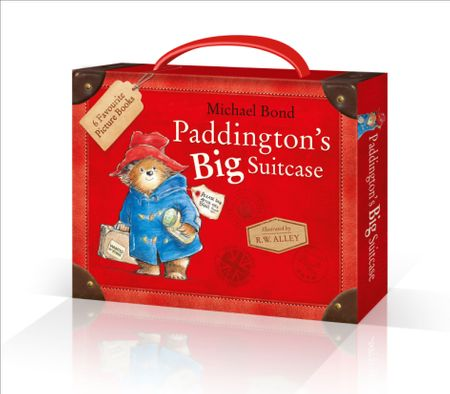 Paddington's Big Suitcase - Michael Bond, Illustrated by R. W. Alley