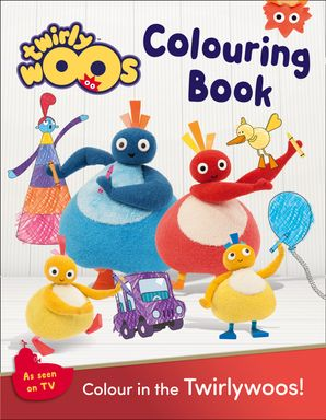 Twirlywoos Colouring Book Paperback  by