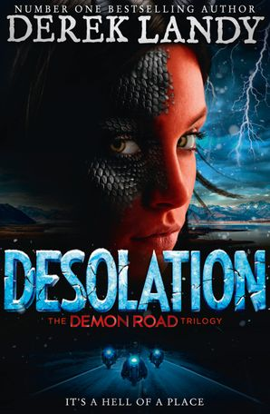 Desolation (The Demon Road Trilogy, Book 2) Paperback  by Derek Landy
