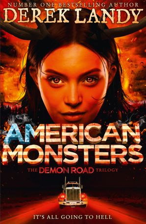 American Monsters Hardcover  by Derek Landy