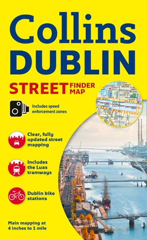 Collins Dublin Streetfinder Colour Map  New edition by No Author