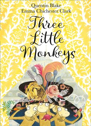 Three Little Monkeys Hardcover  by
