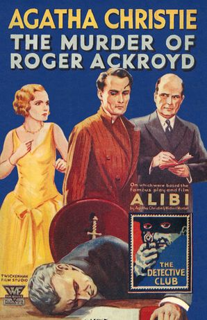 The Murder of Roger Ackroyd Hardcover 90th Anniversary edition by