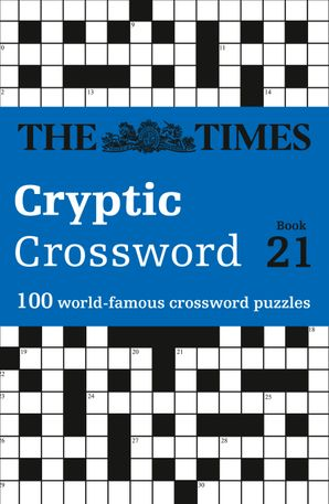 The Times Cryptic Crossword Book 21 Paperback  by Richard Browne