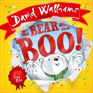 The Bear Who Went Boo! Paperback  by David Walliams