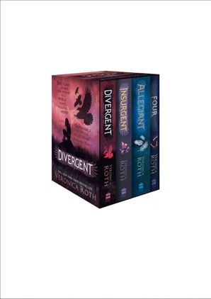 Divergent Series Box Set (Books 1-4) Paperback  by Veronica Roth