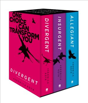 Divergent Series Box Set (Books 1-3) Paperback  by