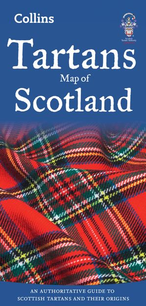 Tartans Map of Scotland (Collins Pictorial Maps)  New edition by No Author