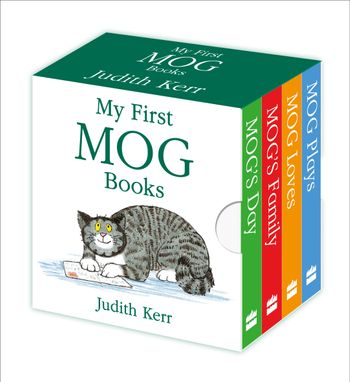 My First Mog Books - Judith Kerr, Illustrated by Judith Kerr