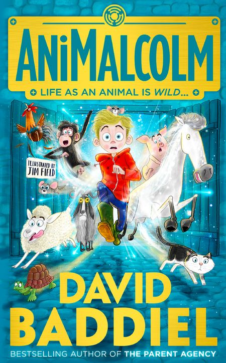 AniMalcolm - David Baddiel, Illustrated by Jim Field