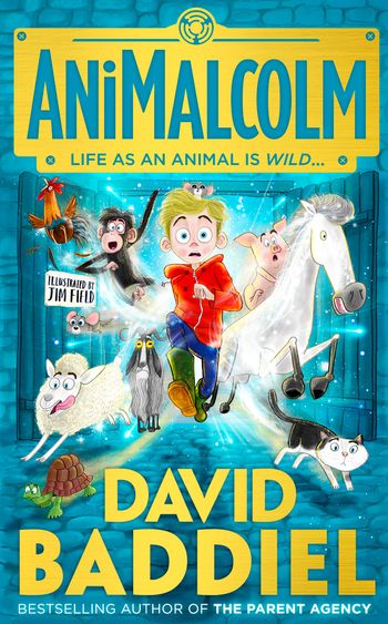 AniMalcolm - David Baddiel, Illustrated by Jim Field