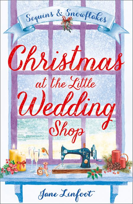 Christmas at the Little Wedding Shop (The Little Wedding Shop by the Sea, Book 2) - Jane Linfoot