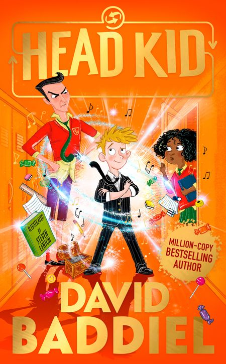 Head Kid by David Baddiel, Illustrated by Steven Lenton -
