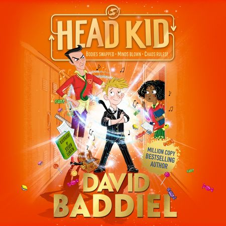 Head Kid by David Baddiel, Read by David Baddiel, Morwenna Banks, Paul Panting, David Rintoul, Nneka Okoye and Aysha Kala (Audio Book) -
