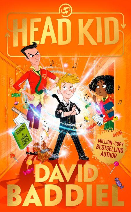 Head Kid - David Baddiel, Illustrated by Steven Lenton
