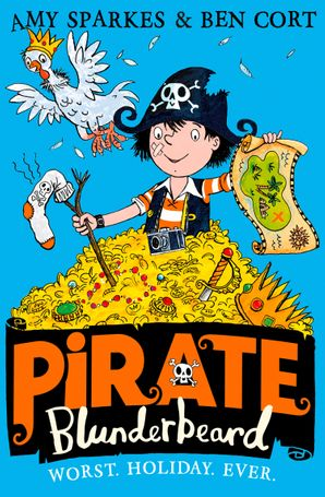 Pirate Blunderbeard: Worst. Holiday. Ever. Paperback  by Amy Sparkes