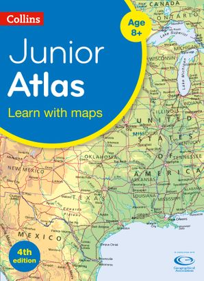 Collins Junior Atlas (Collins Primary Atlases) Paperback Fourth edition by No Author