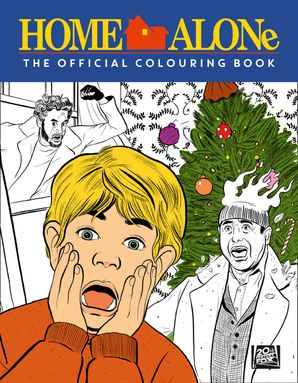 Home Alone: The Official Colouring Book Paperback  by No Author