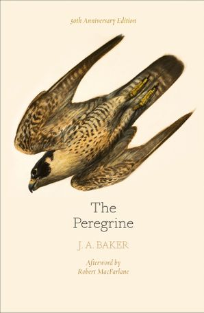 The Peregrine: 50th Anniversary Edition: Afterword by Robert Macfarlane Paperback  by J. A. Baker