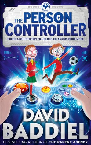 The Person Controller Hardcover Signed edition by David Baddiel