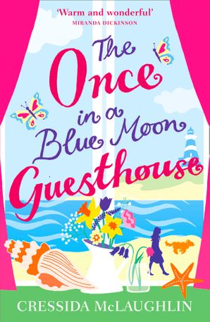 The Once in a Blue Moon Guesthouse Paperback  by Cressida McLaughlin