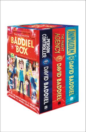 The Blockbuster Baddiel Box (The Parent Agency, The Person Controller, AniMalcolm) Paperback  by David Baddiel
