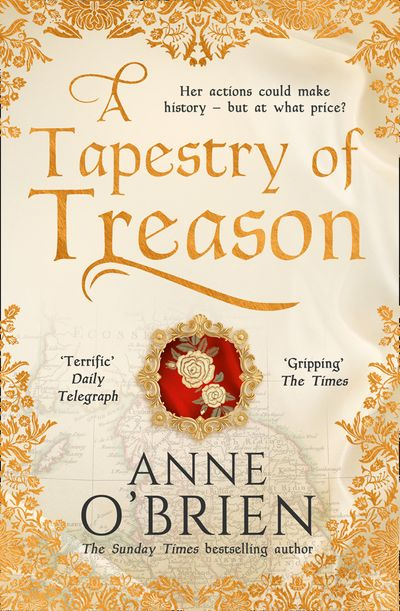 A Tapestry of Treason - Anne O'Brien