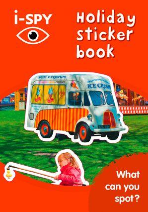 i-SPY Holiday Sticker Book Paperback  by No Author