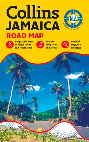 Jamaica Road Map   by No Author