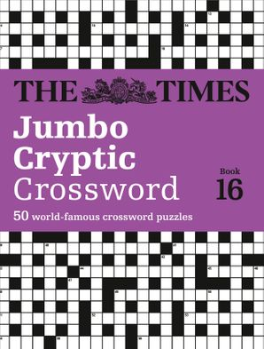 The Times Jumbo Cryptic Crossword Book 16 Paperback  by Richard Browne