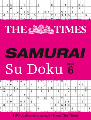 The Times Samurai Su Doku 6 Paperback  by No Author